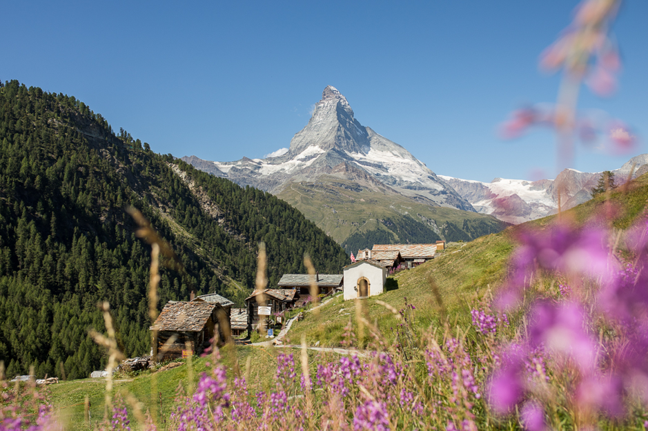 SUMMER Skiing Zermatt