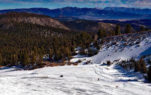 spring skiing mammoth lakes
