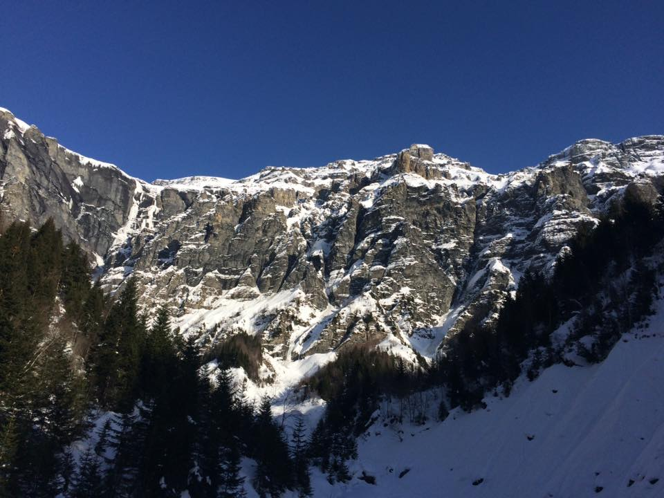 Mount Buet's Grand Couloir