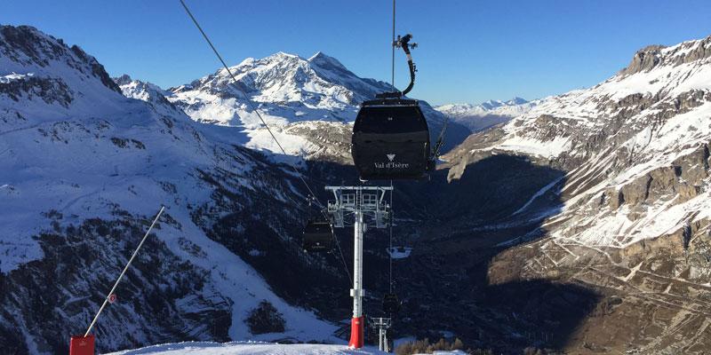 Solaise gondola, Val d'Isère