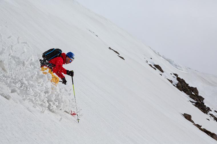 Who says moisture-laden snow isn't fun? | NNadir Khan