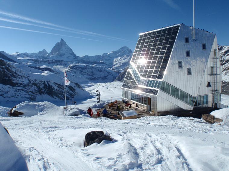 Monte Rosa Luxury Hut