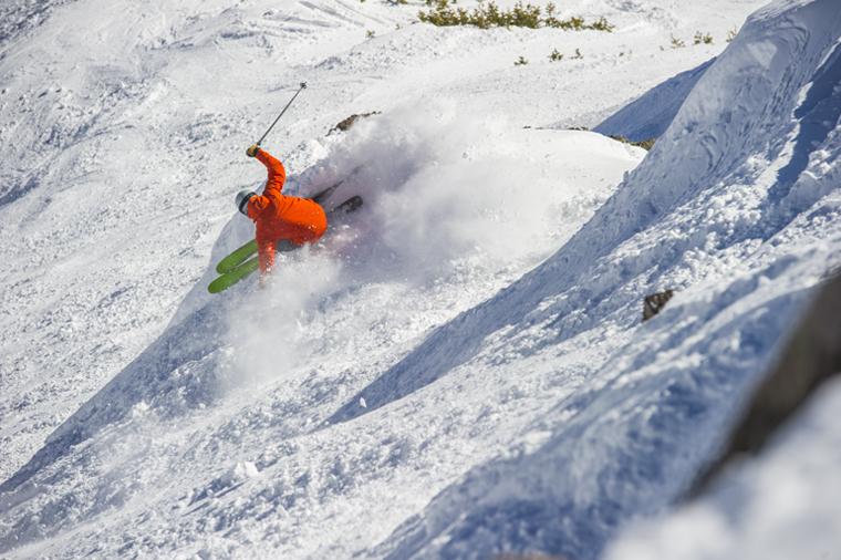 The K2 Pinnacle 95 in action|Alex O'Brein / K2