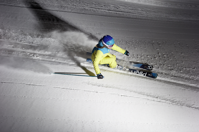 A seriously high performance piste ski|Peter Mathis