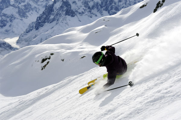Herve could really ski too! | Credit: stylealtitude.com