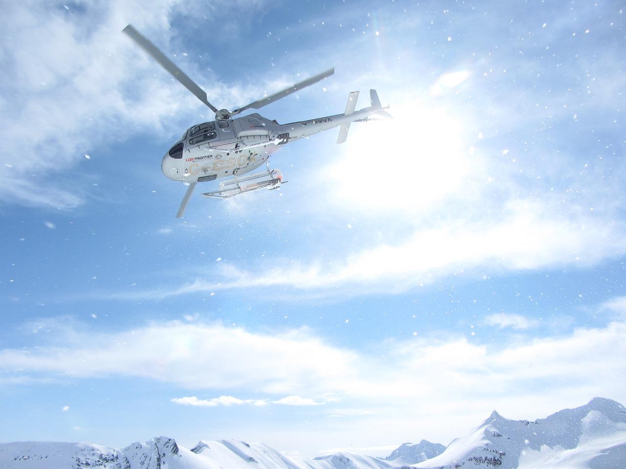 heli-skiing in europe