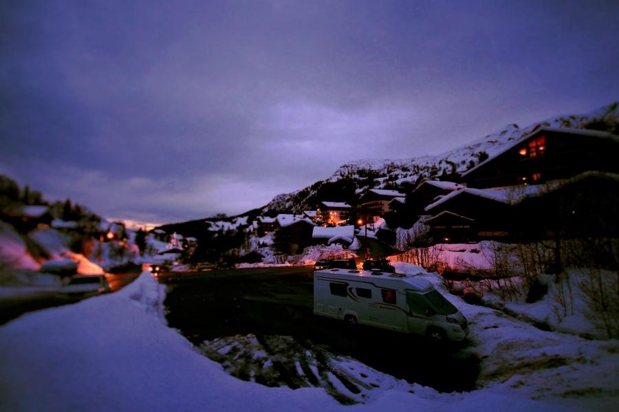 Choosing a van   Snowchaser