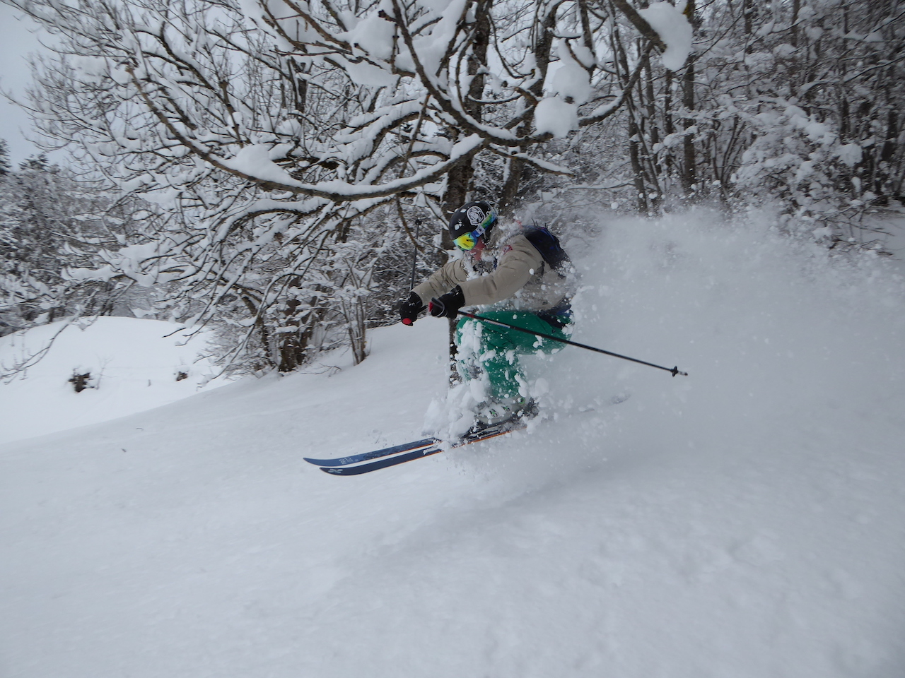 how to ski with teenagers