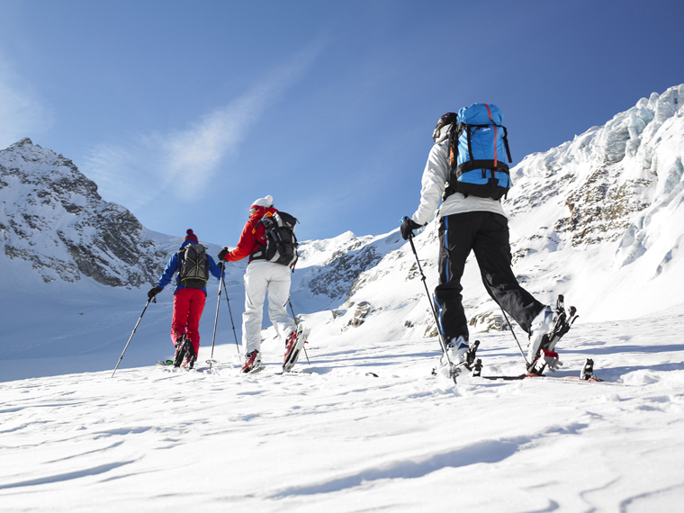 The Madrisa Rundtour in Austria's Silvretta region is a classic cross-border ski tour|Alex Kaiser / Montafon Tourismus