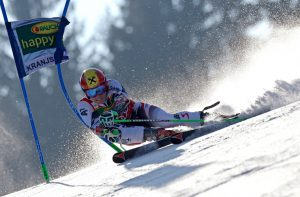 Austria's Marcel Hirscher on the edge of glory - Courtesy of Atomic
