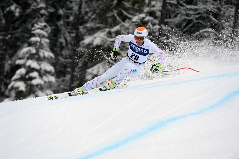 Bode Miller makes the most of conditons | Photo courtesy of Head