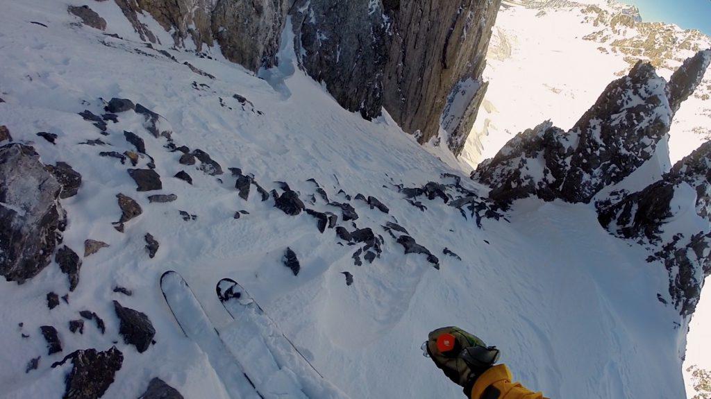 A rocky start... | Photo: Matt Clark Skier: Matt Clark