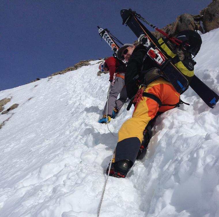 ski-mountaineering