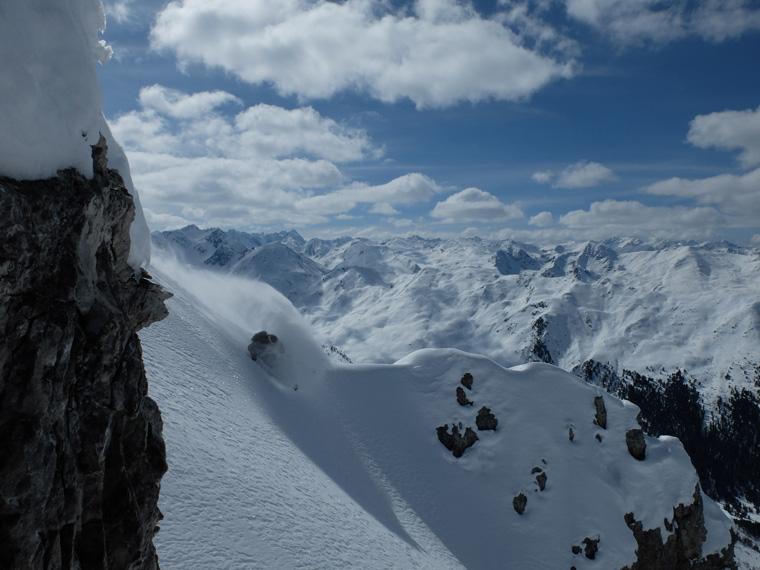 Neil up above Axams, near Innsbruck, his home town for three seasons