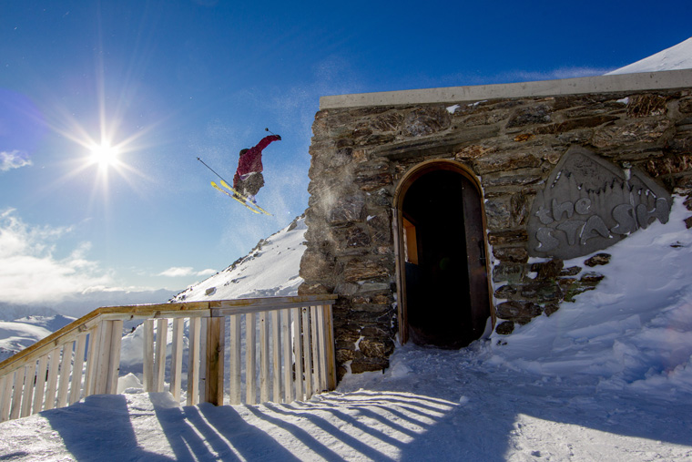 Exploring The Stash run, designed by Jake Burton |Nzski.com / Camilla Stoddart