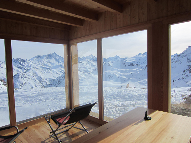 Becs de Bossons  luxury hut