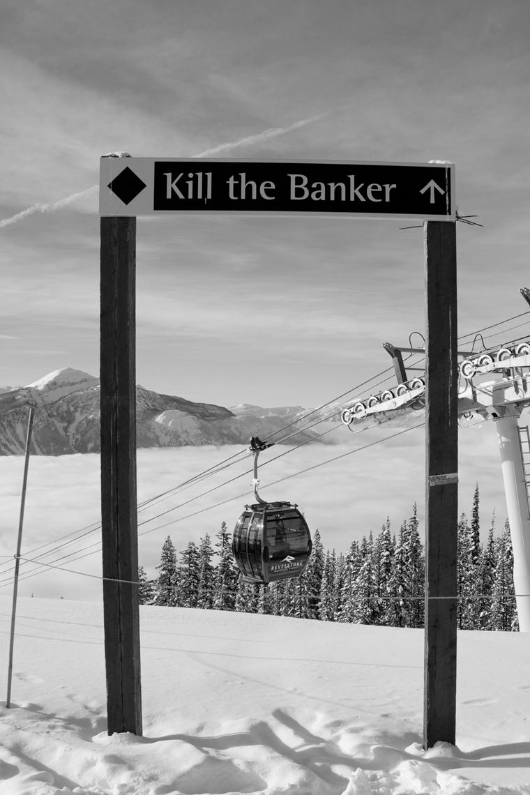 Kill the Banker = max fun | Chrigl Luthy