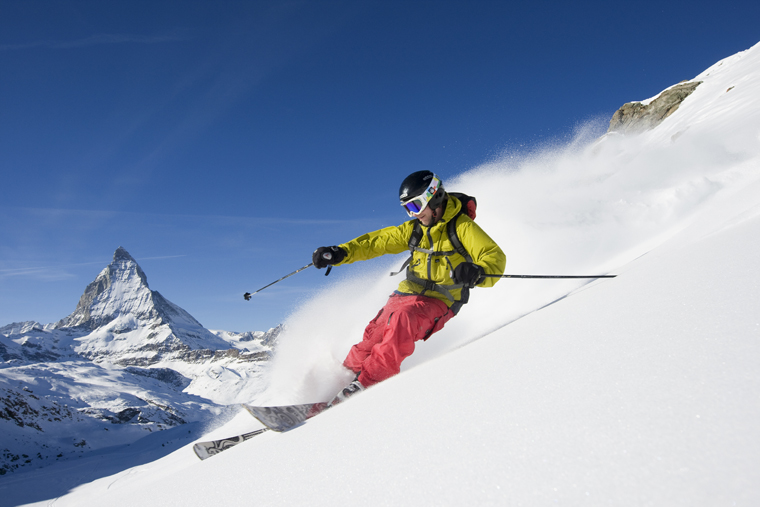 A dream backdrop  from every angle, and year-round skiing  Fredrik Schenholm