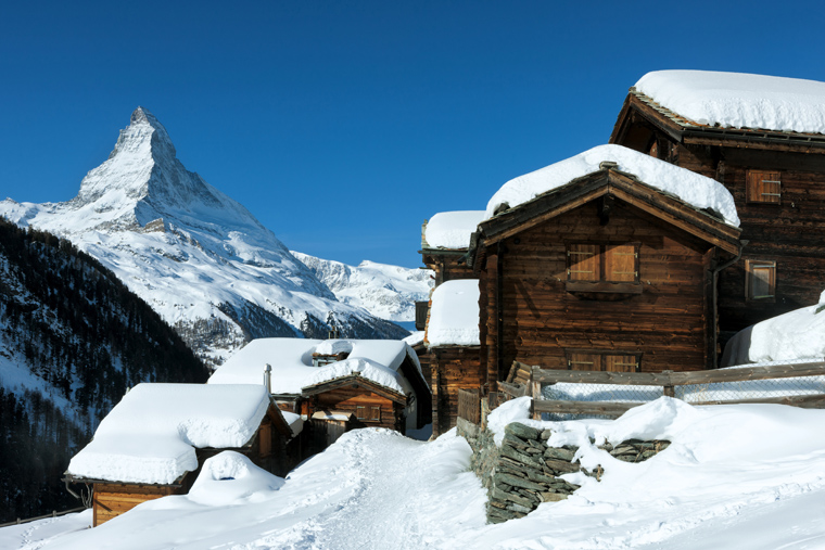 The quaint hamlet  of Findeln swiss-image.ch/Andreas Gerth