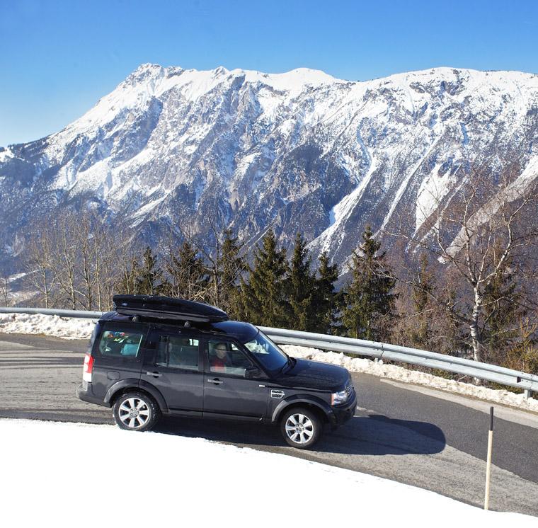 The road from Kühtai