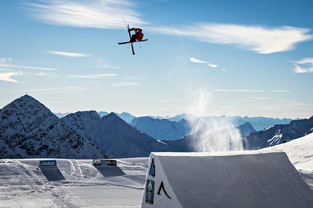 Try to keep up with the pros at Stubai Zoo park| Stubai Gletscher