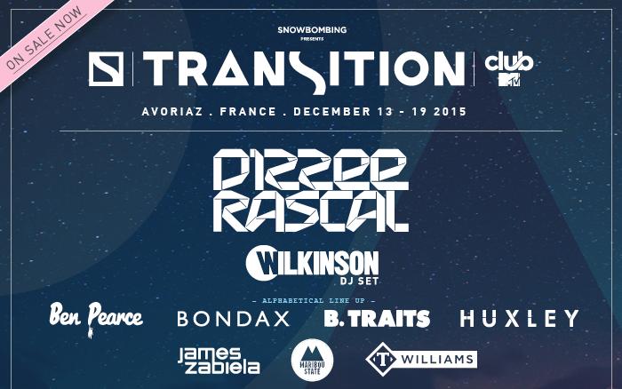 Dizzee Rascal headlines new Transition Festival
