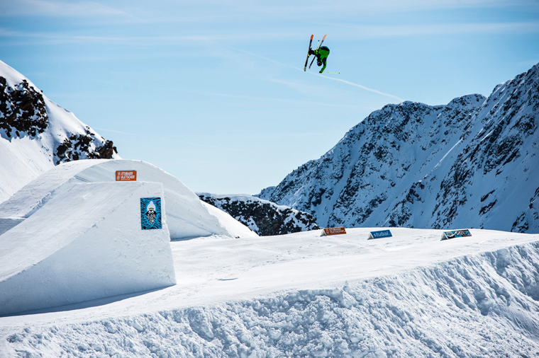 Oscar Scherlin takes flight in Stubai | Pally Learmond