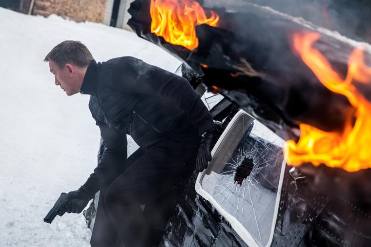 A scene filmed in Obertilliach | 2015 Sony Pictures Releasing GmbH