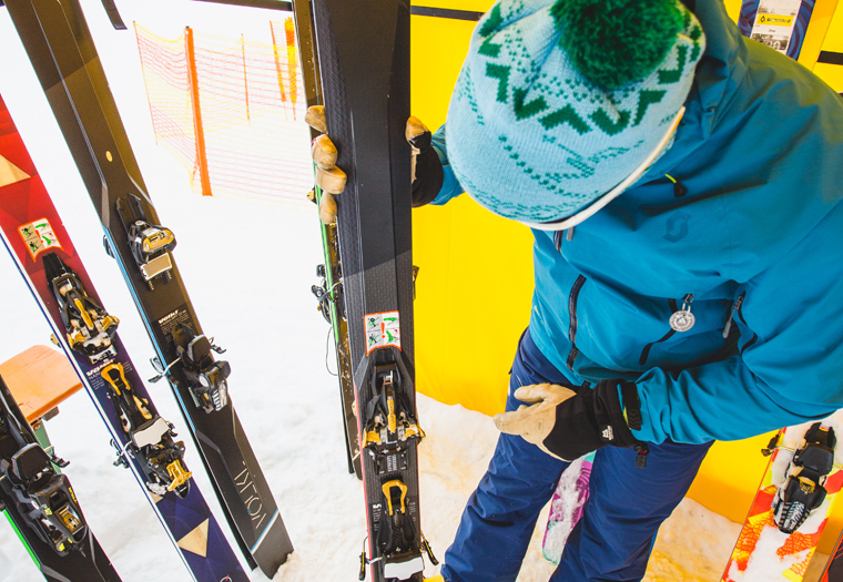 Fall-Line's backcountry editor Martin checks out Völkl's touring range | Callum Jelley