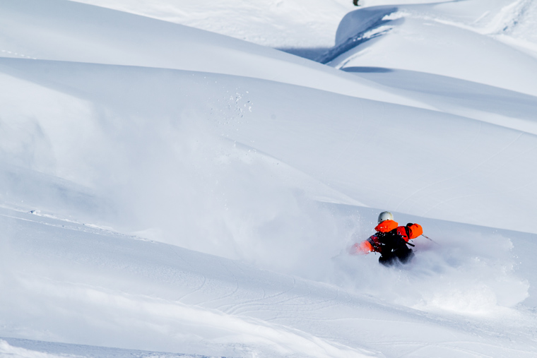 Lap terrain like this more easily with the new Hirli chair | Jeremy Bernard