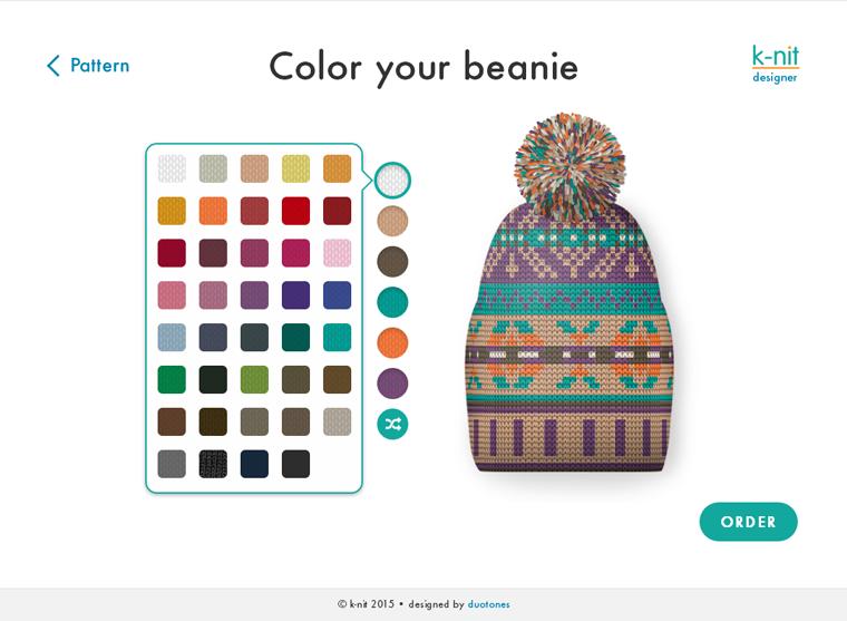 DYO Beanie designer
