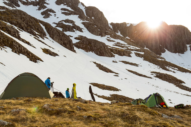 """""""Prepare to be wet the whole time, don't expect your tent to survive""""