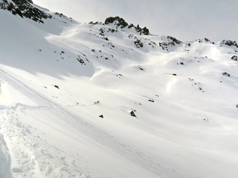 Another couloir in sight