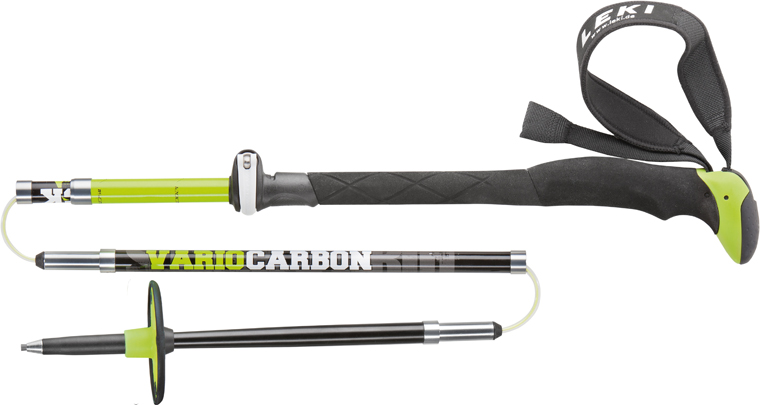 Leki_Tour Stick Vario Carbon - Price £150, weight 506g