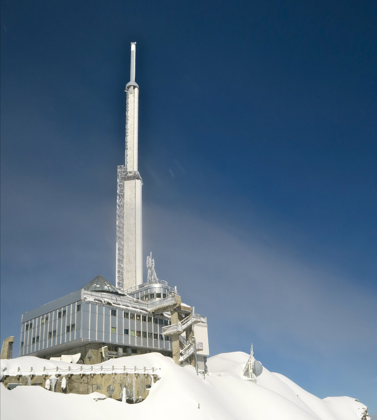 The Pic Du Midi doubles as an astronomical observatory