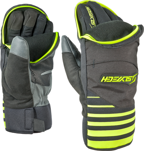 This Slytech glove offers a compromise between glove and mitten