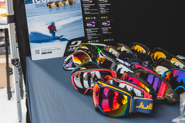 Modern googles have a better range of vision making them safer on the slopes | Callum Jelley