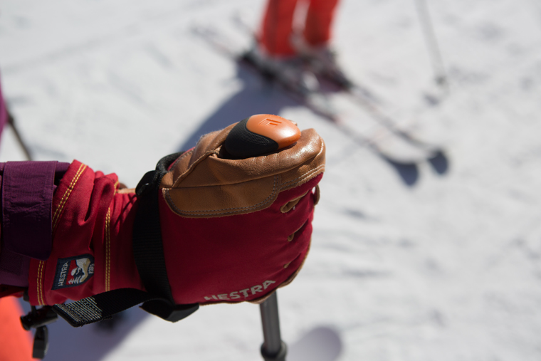 Gauntlets keep snow from sneaking in | Callum Jelley