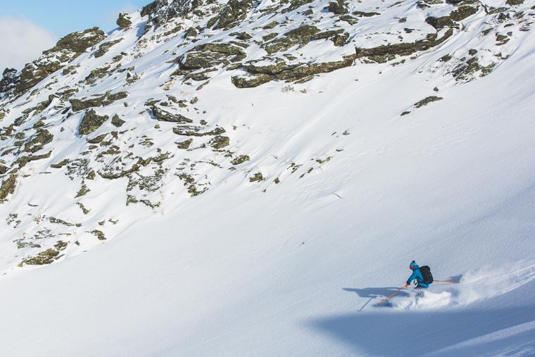 Martin Chester enjoys the descent | Callum Jelley