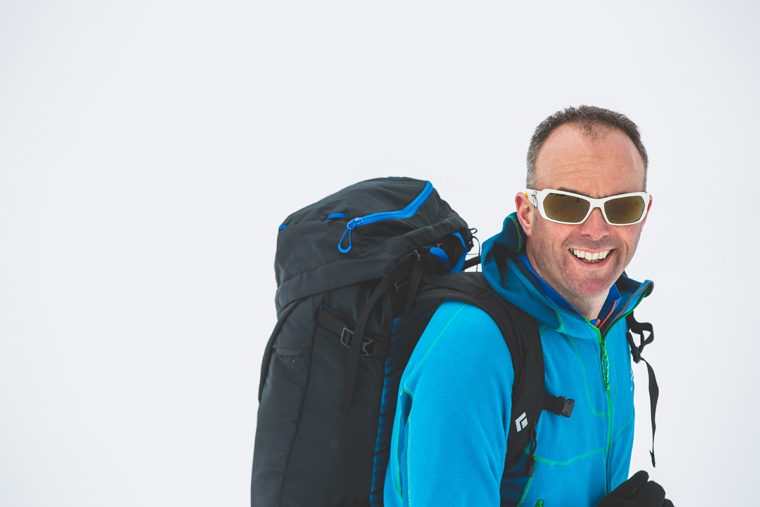 Day tourers should aim for 25-35L packs   Callum Jelley