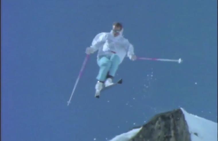 Blizzard of Ahhhs produced Simon's next ski her0