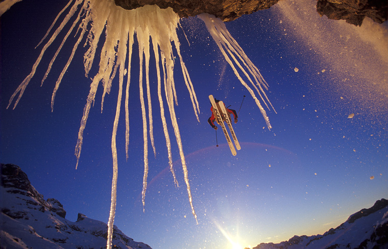 Big break: the image that landed Oskar Powder's Photo of the Year back in 2003