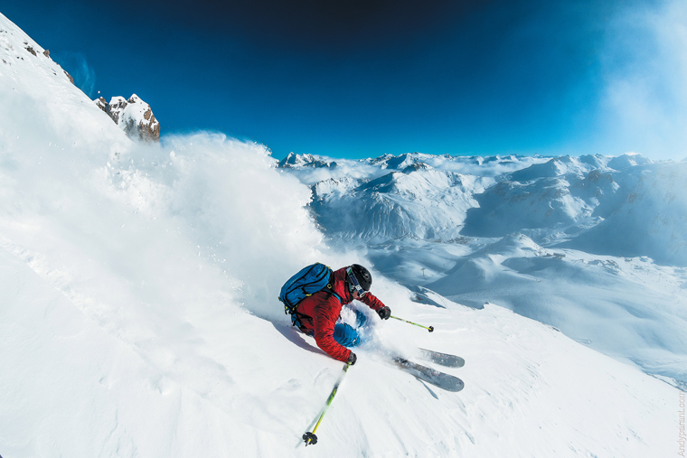 Val is tops for lift- accessible off piste | Andy Parant