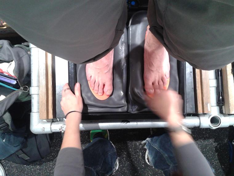 Getting custom soles made at Profeet | Yolanda Carslaw