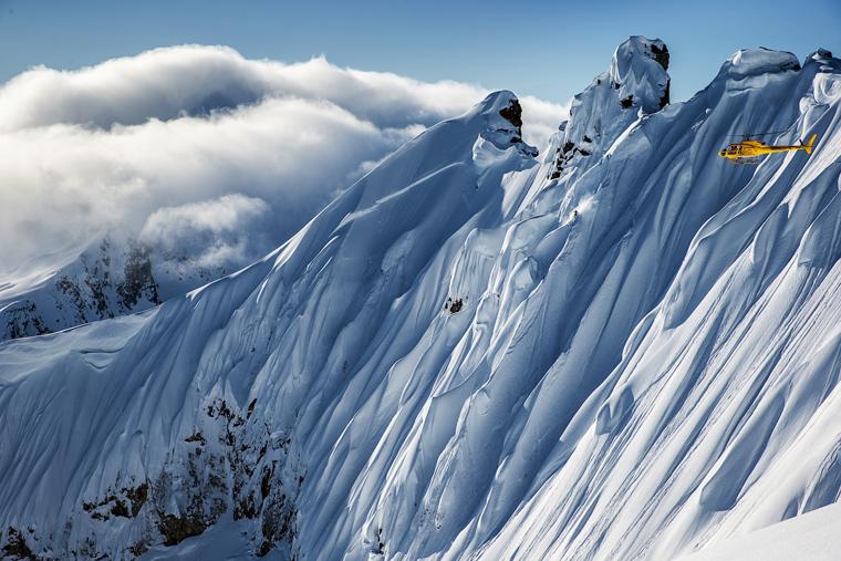 Sam Smoothy takes on an Alaskan spine | Richard Walch