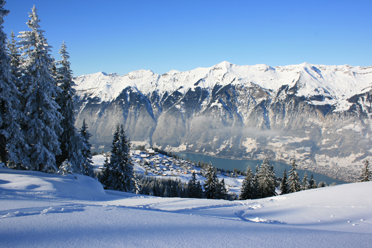3. A multi-day ski tour in the Bernese Oberland