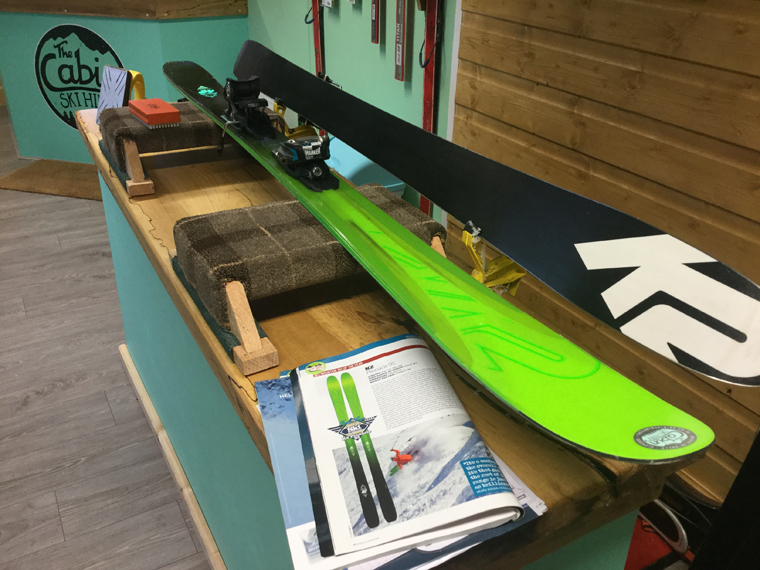Quality skis guaranteed