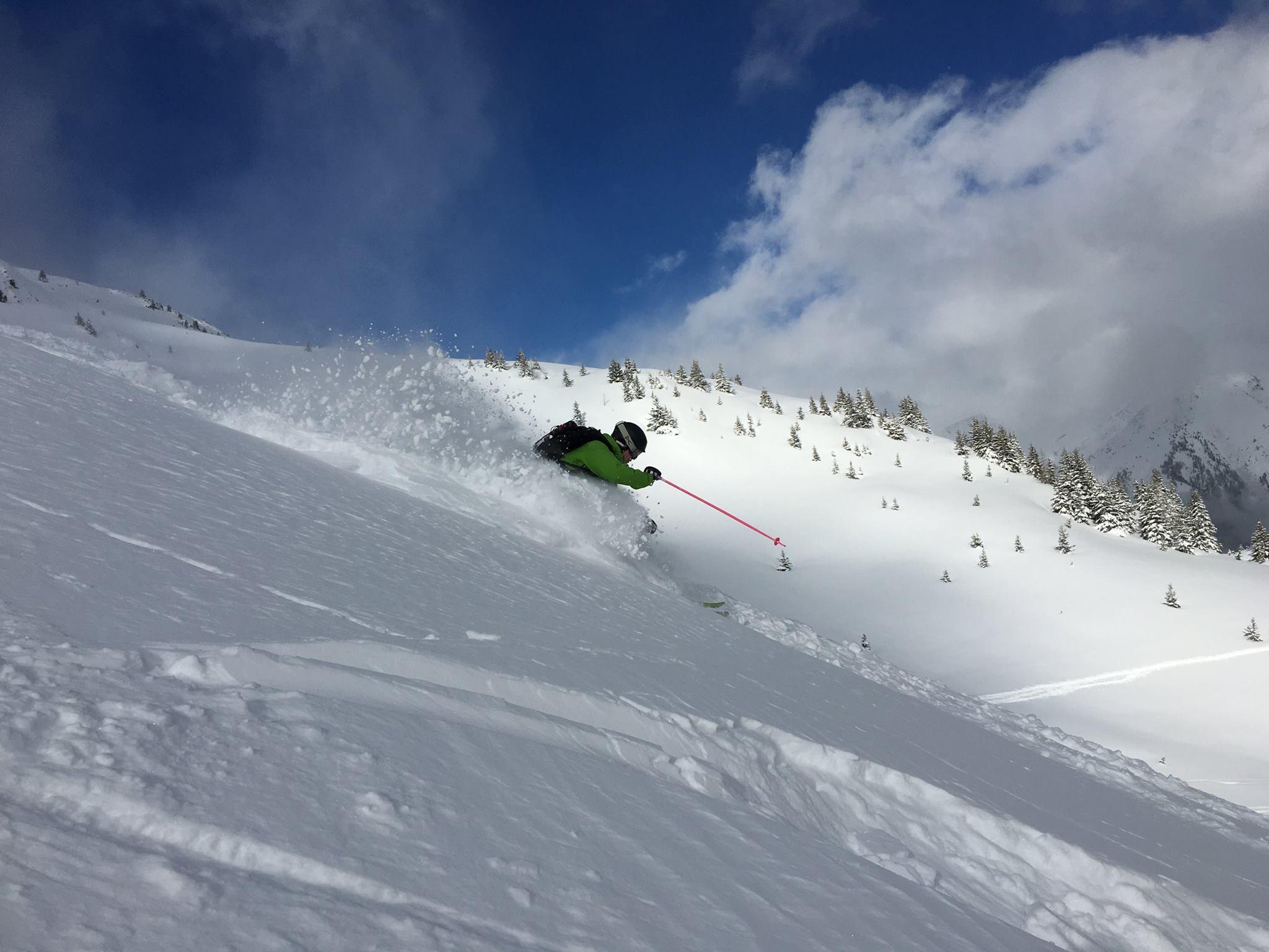49 inches in Chamonix = faceshots all round | facebook.com/ChamonixFans