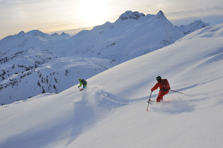 Quality snow: A Warth speciality | Sepp Mallaun / Vorarlberg Tourismus