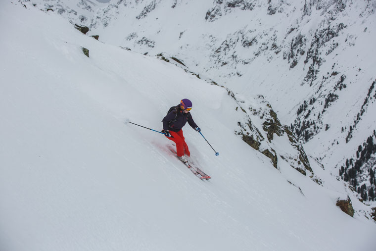K2's IKonic skis work all over the mountain   Callum Jelley